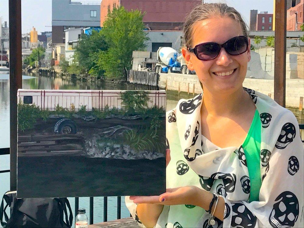 Gowanus Plein Air w/ Janice McDonnell