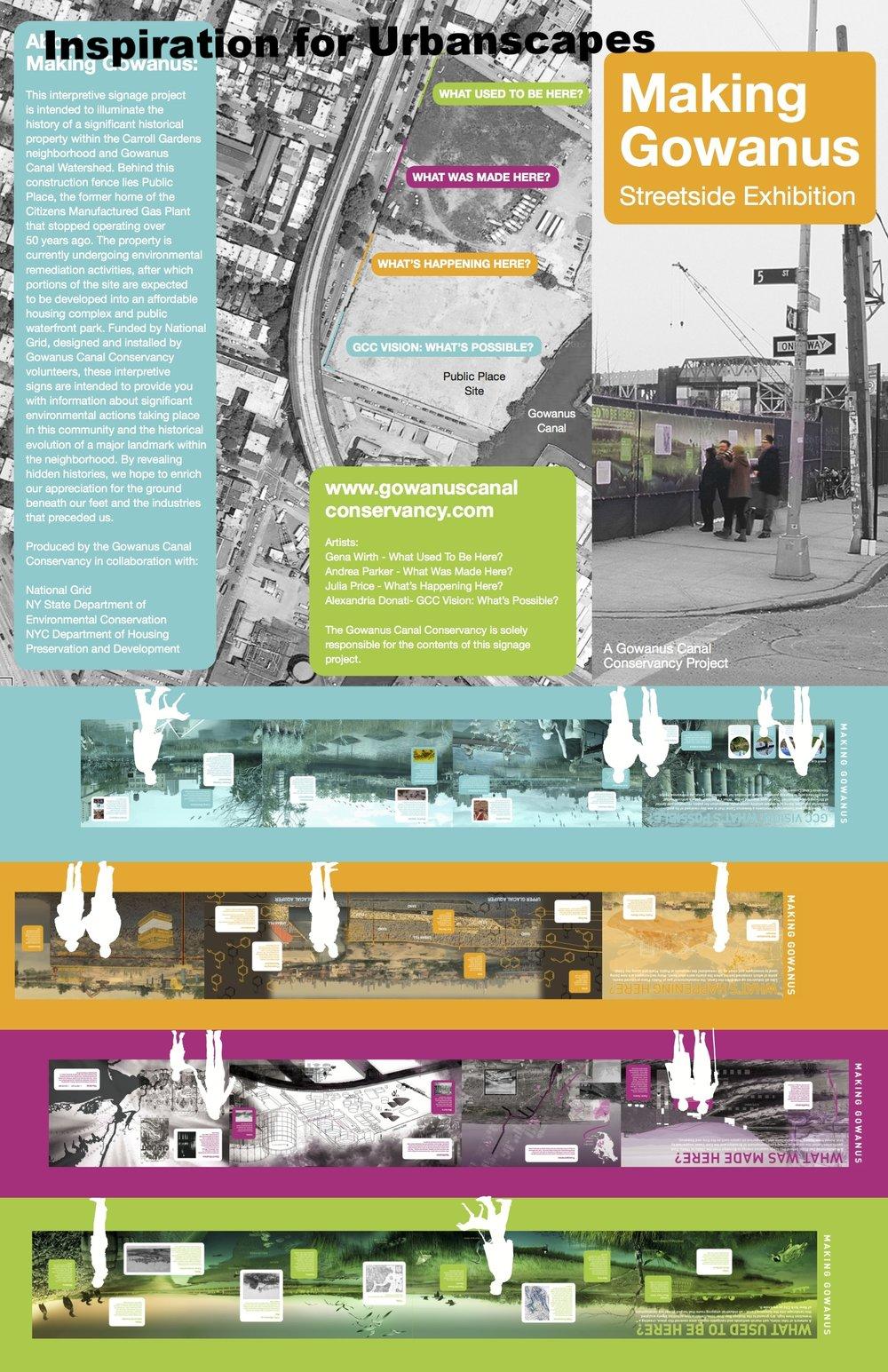 Making Gowanus by, Andrea Parker, Gina Wirth, Julia Price, & Alexandra Donati