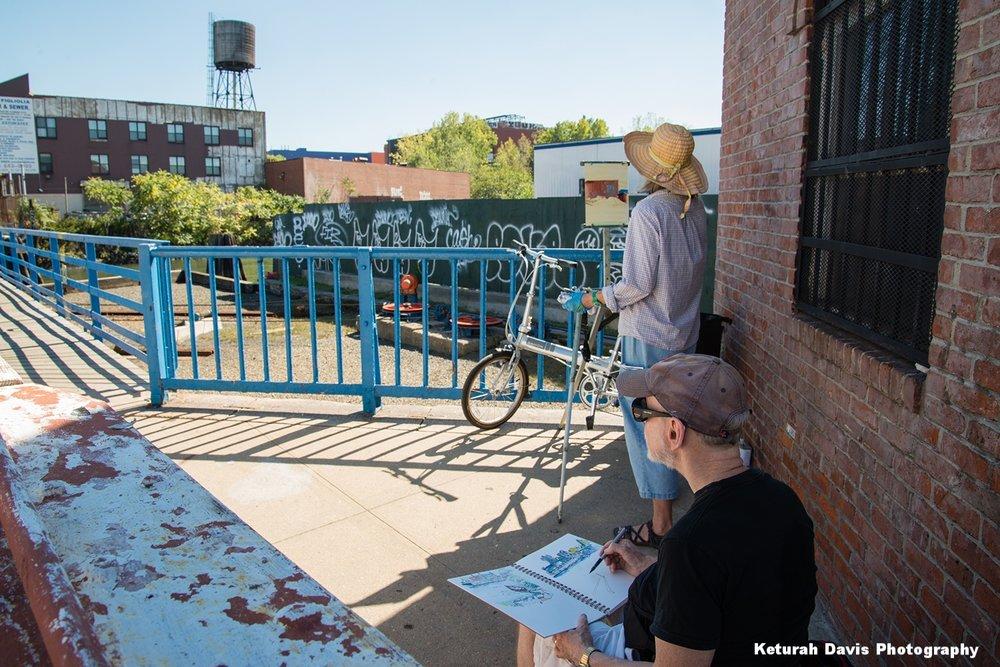 Janet Pederson & Urban Sketcher by Keturah Davis Photography W.jpg