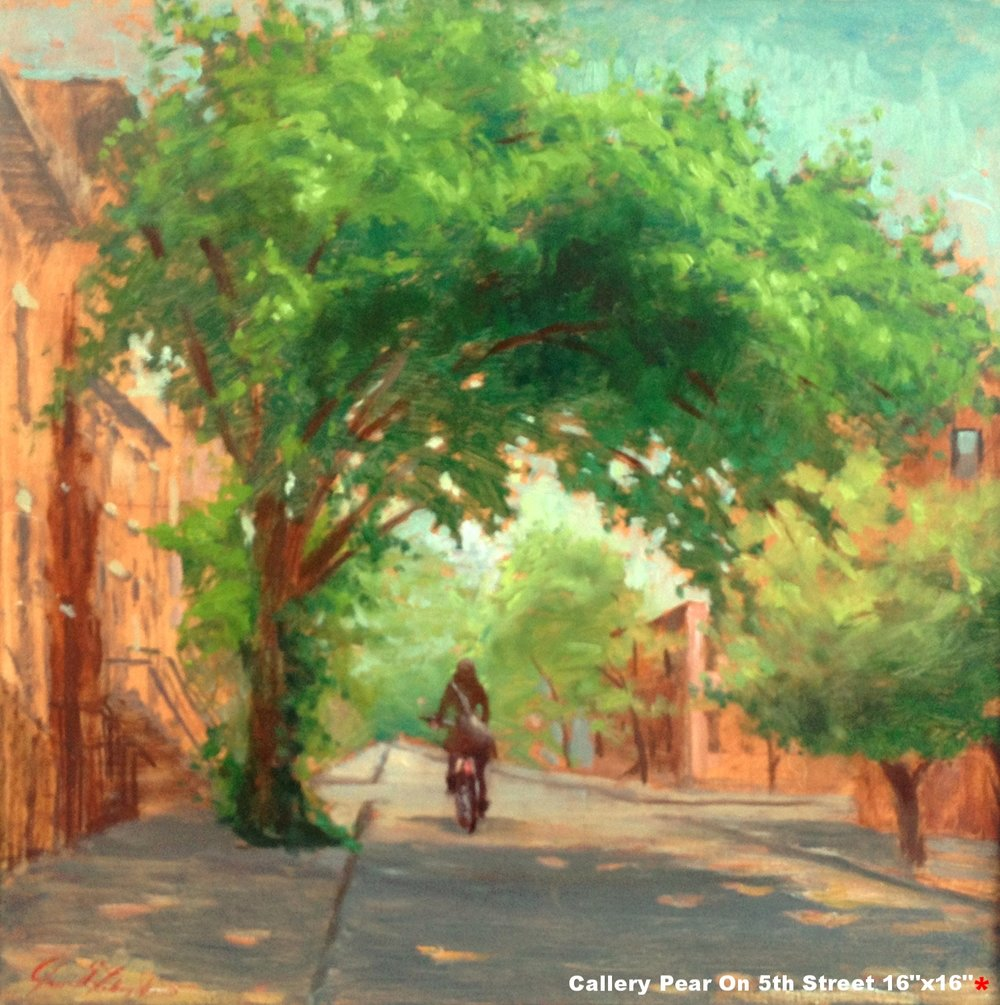 W Callery Pear On 5th Street-Dalrymple-18x18-oil on canvas-2010-SOLD.jpg