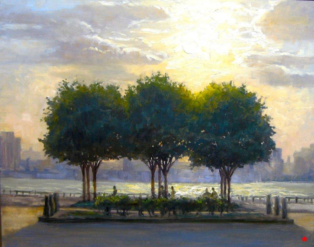 W-NITC-Three Trees-Dalrymple-22x28-oil on canvas-2009-SOLD.jpg