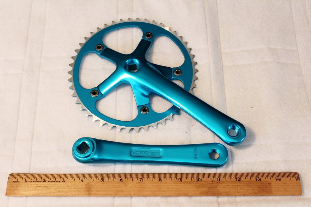 Cranks Virtue Track Crank - Blue
