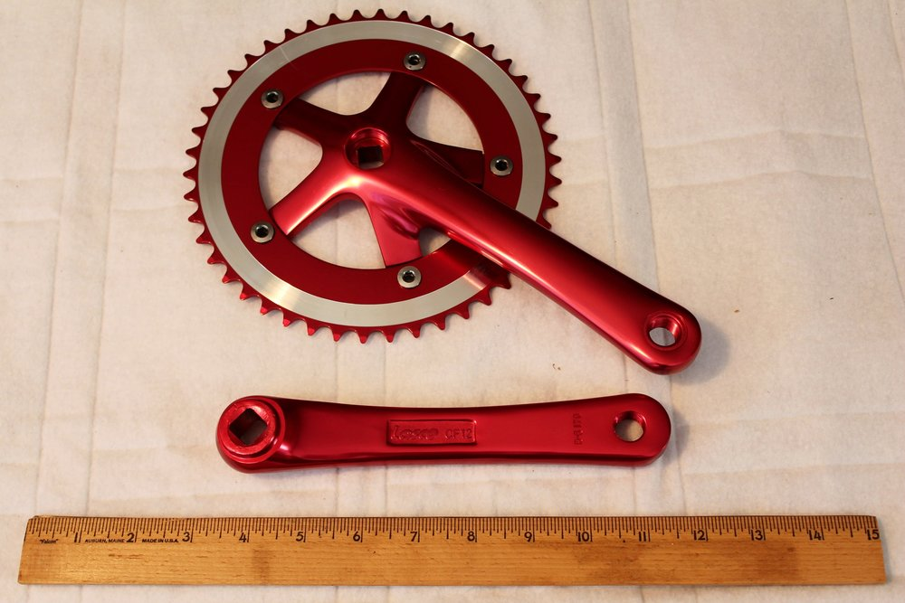 Cranks Virtue VRC 4.0 - Red