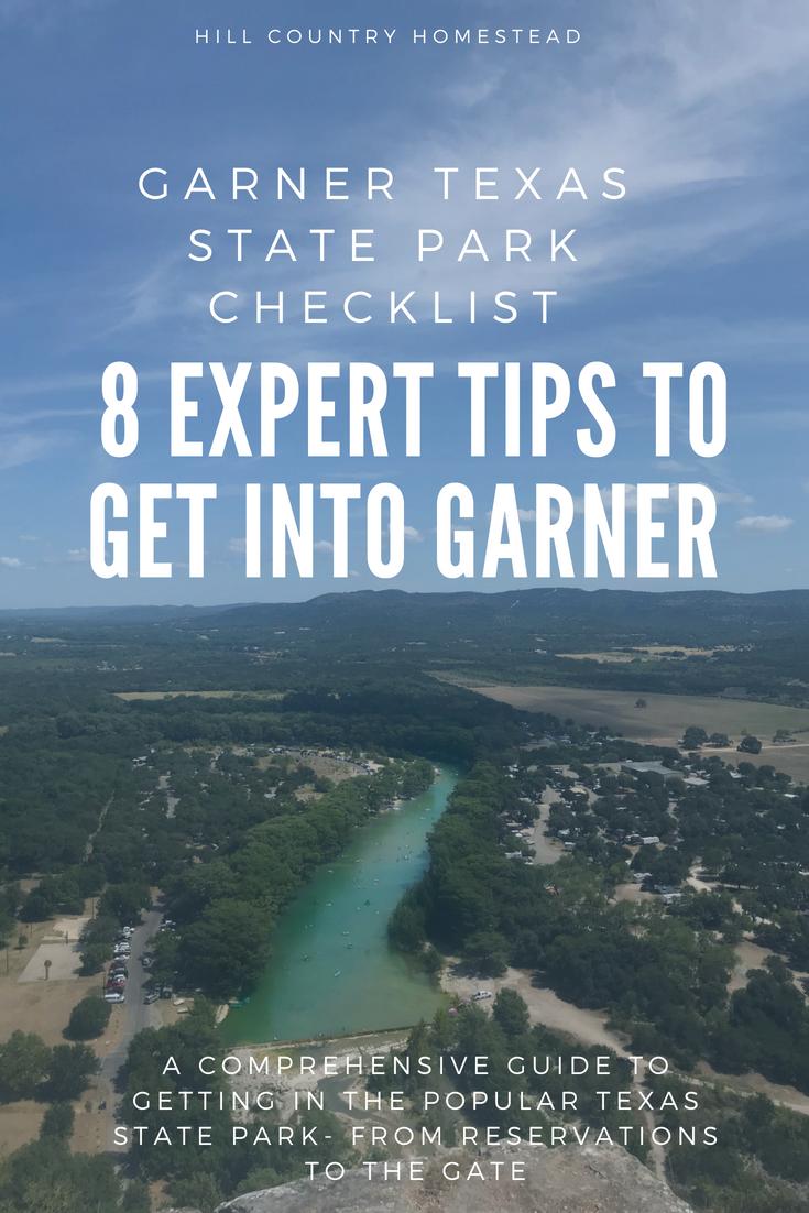 Garner State Park Checklist l 8 Expert Tips to Get Into Garner
