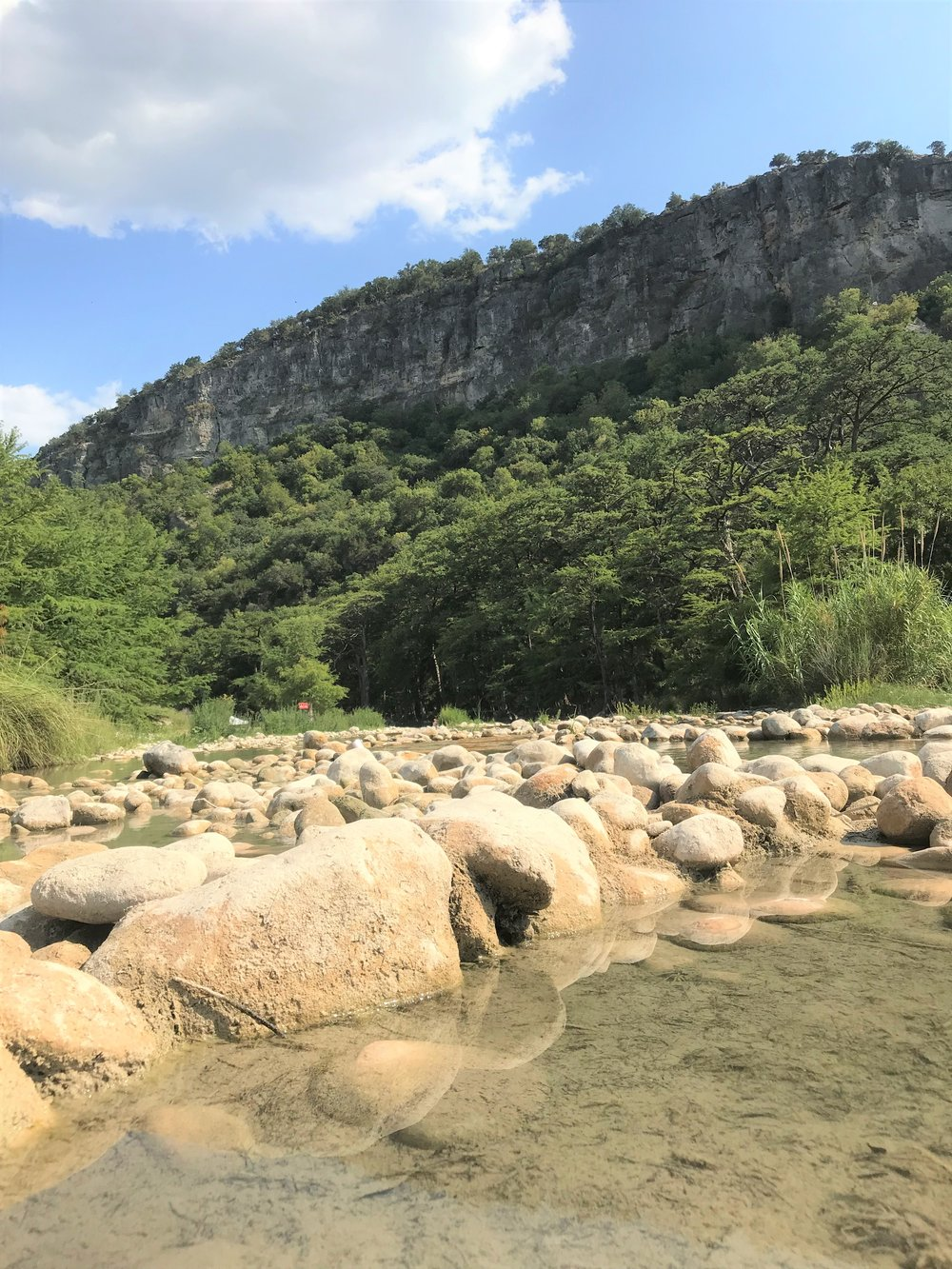 With cool, clear water running through the Frio River, plenty of hiking trails and an outdoor dance floor, it's easy to understand why many Texans travel to Garner State Park each spring, summer and fall to enjoy its beauty.  But it's likely that not every visitor will be inclined to spend a night under the stars — cramped in a sleeping bag, inside a small tent, nestled among rocks, twigs, dirt and free-roaming wildlife.