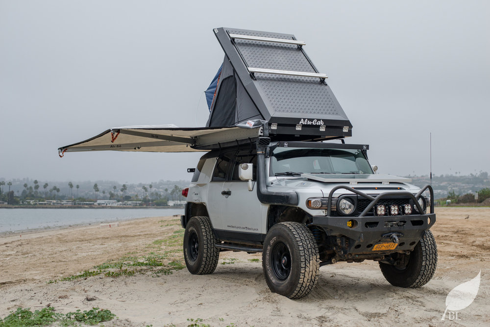 This tent is still mounted to my FJ Cruiser and I have about 10 nights in it look out for an in depth review on the tent soon. & Roof Top Tent Buyers Guide u2014 Basil Lynch Photography