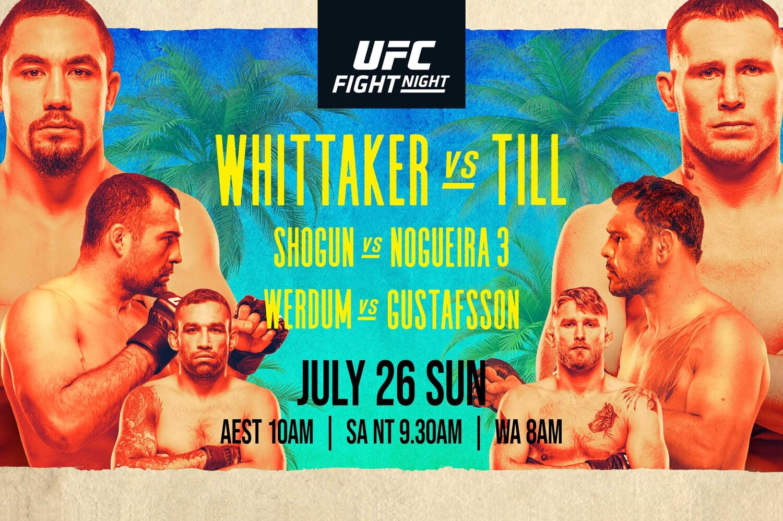 UFC Fight Night: Whittaker vs Till | Better at The Pub