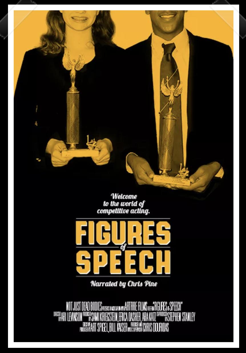 Figures of Speech - Featured on Netflix