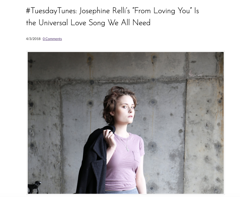 I've been able to have the honor of being featured on the very first #WCM Blog! It touches on my most recent single release #FromLovingYou as well as my upcoming EP, my own blog, and the wondrous experiences I've had with #WomenCrush Go give it a read!