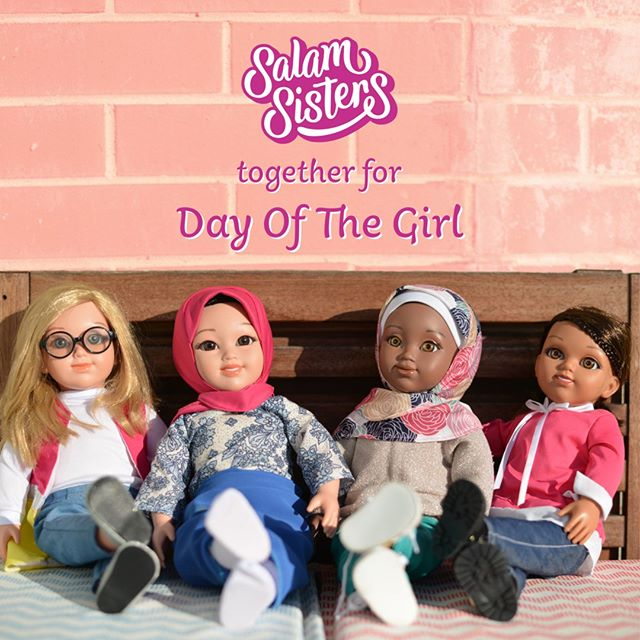 Every day we're motivated to build a brighter future for our girls. Today, we're celebrating our future leaders, thinkers, and creatives with #DayOfTheGirl. - For our #SalamSistersFam in the US we're making today extra special by offering $10 off every order. Click link in bio, select Shop US, and enter this code at checkout: SSS10OFF 💕