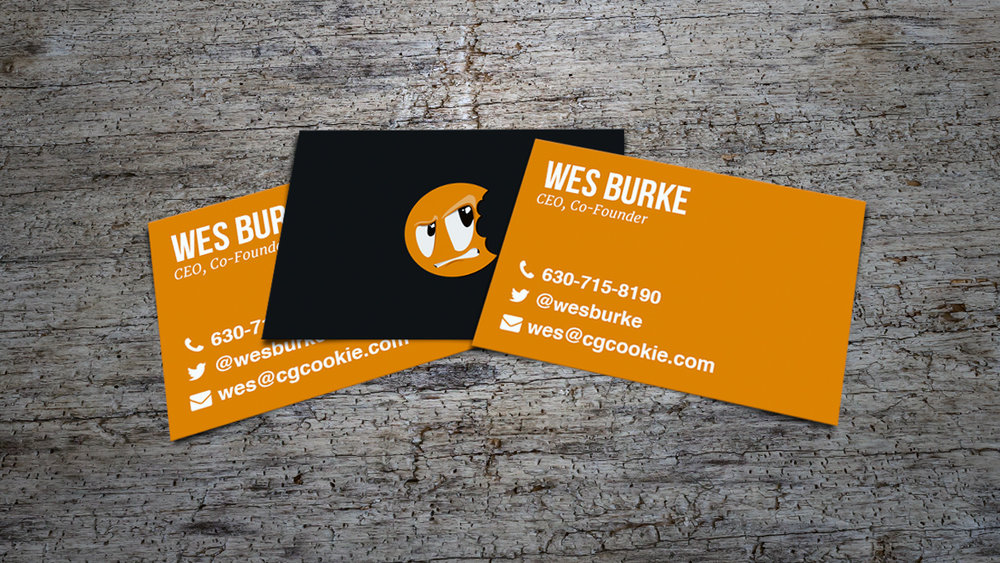 Design: CGC Business Cards — Wes Burke