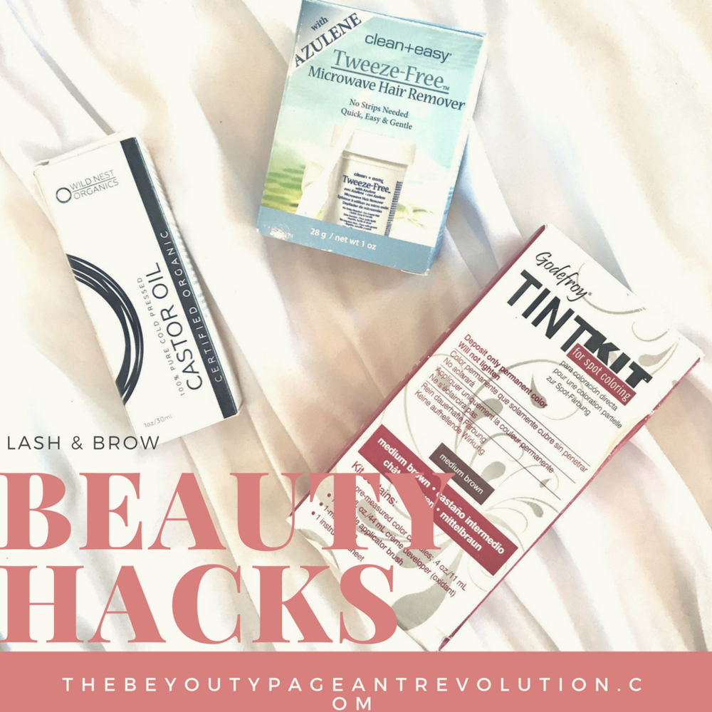 brow and lash beauty hacks