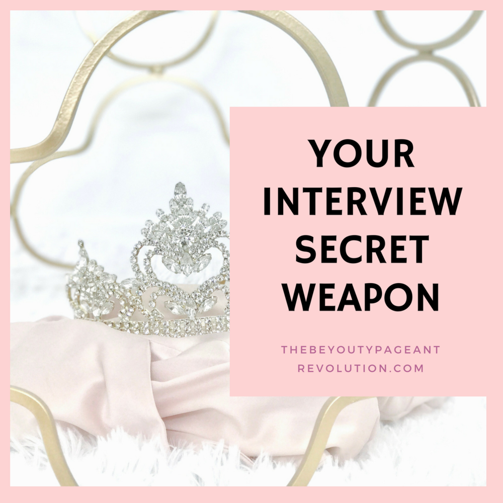 how to prepare for and win a pageant interview