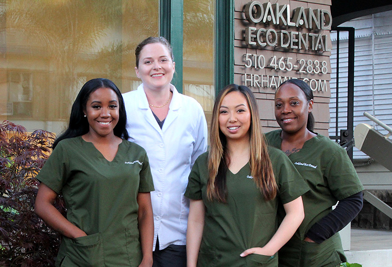 Oakland Eco Dental Staff - An Oakland, California Dentist Office. Locally owned, eco-friendly, minimally invasive dentistry.