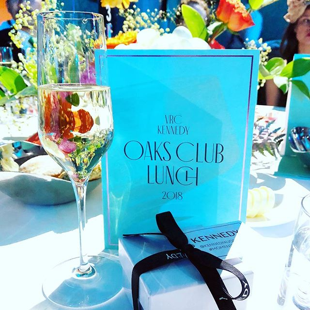 Thanks UCI for a very elegant Oaks Day Lunch today. And what a brilliant surprise to be entertained by Dion Warwick! #vrc #oaksdaylunch