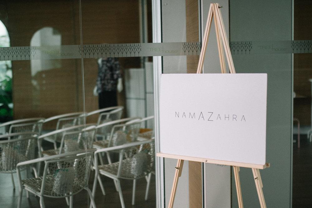 NamaZahra: 1st Anniversary Soiree