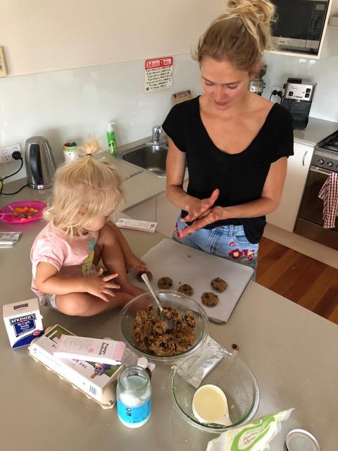Recipe #1: - Gluten free, dairy free chocolate chip cookies