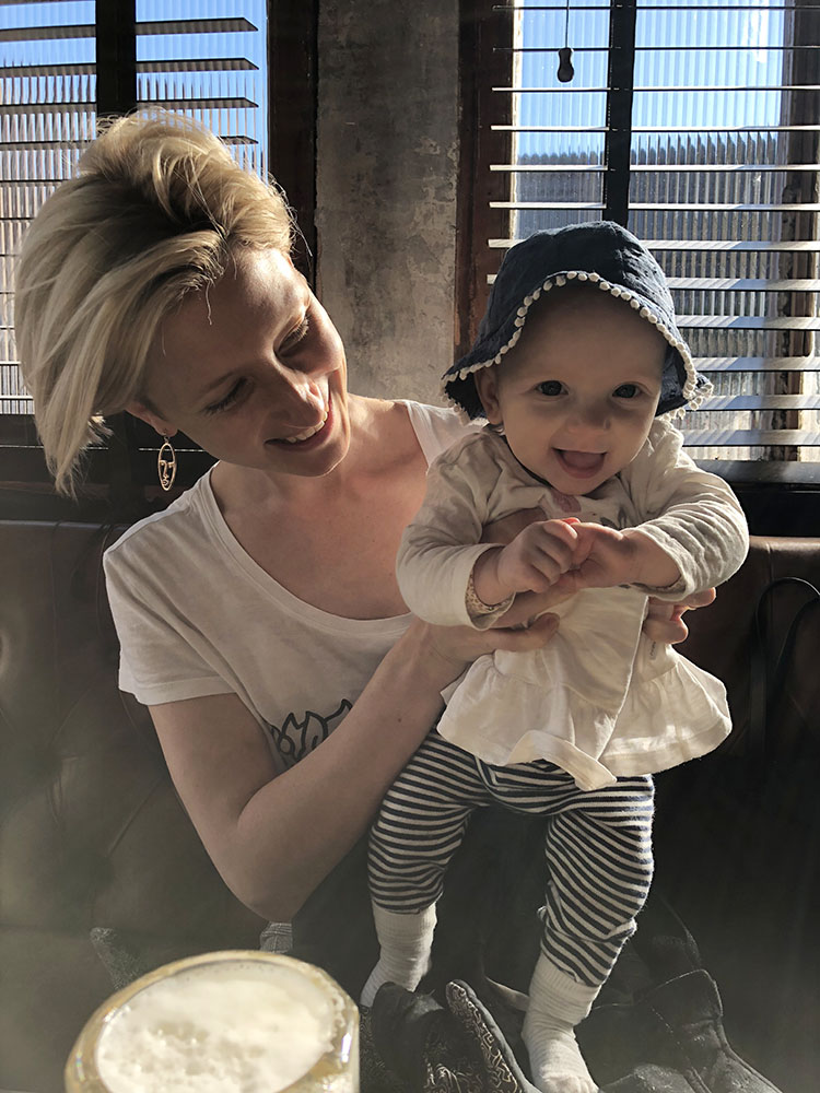 'No and low' cocktail recipes for future and new mamas. - With Zara Madrusan, co-author of A Spot At The Bar, co-owner of Melbourne bars, The Everleigh and Heartbreaker and new mama to 10 month old, Molly.
