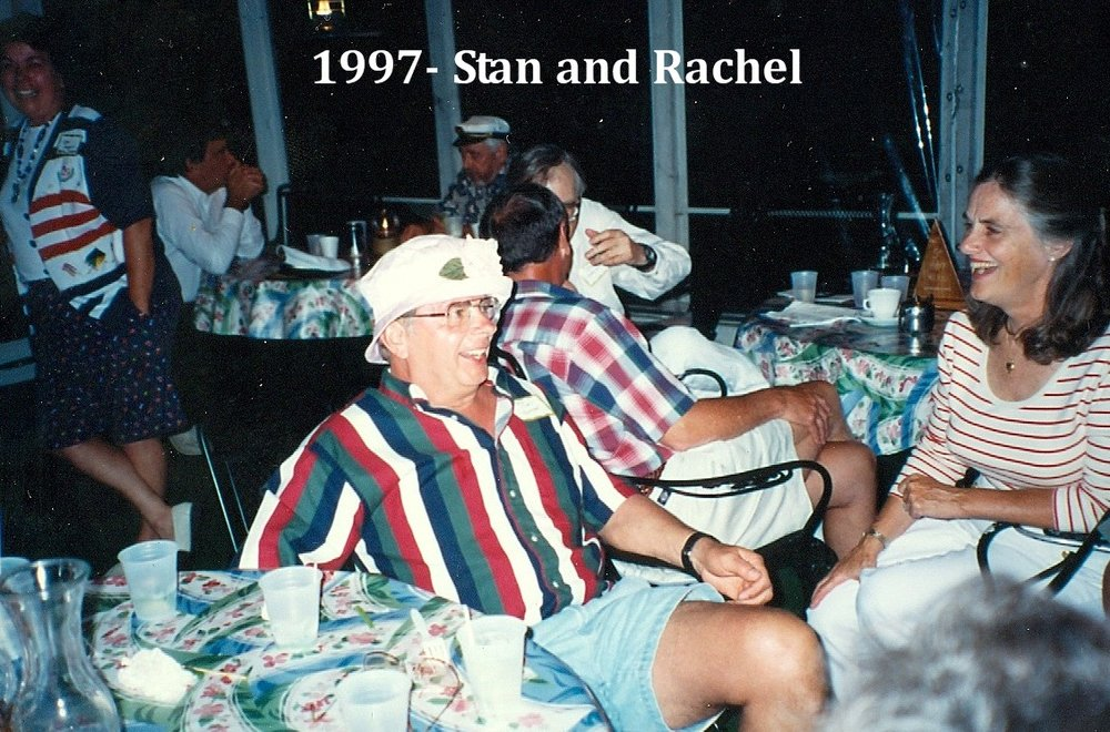 1997 Commodore's party with Stan and Rachael.jpg