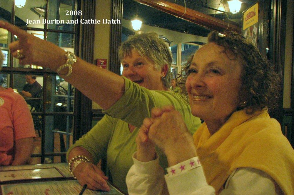 2008 Jean Burton and Cathie Hatch 2008.jpg