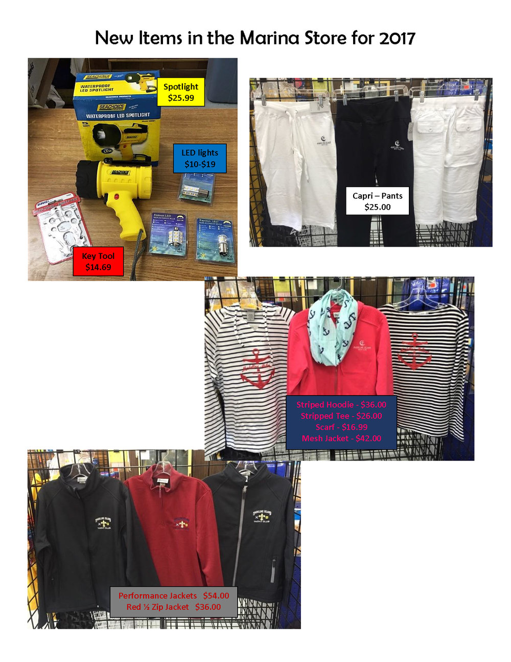 New Items in the Marina Store for 2017.jpg