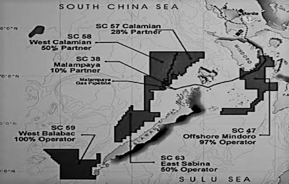 Foreign Joint-Ventures for Oil & Gas in Palawan, Philippines