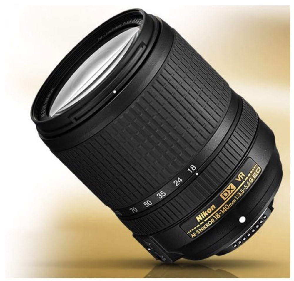 18-140mm Jack of all Trades - I really liked Nikon's 18-140mm lens. It's a good lens to have when you're on the go since it can get decently wide at 18mm, and zoom in to 140mm. I bought mine