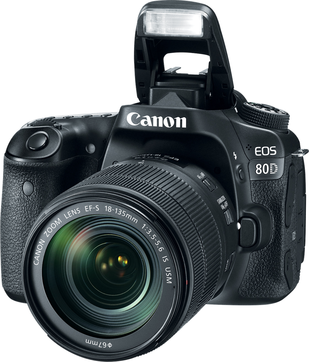 Canon 80D - This bad boy is solidly built. It's weather sealed, and has