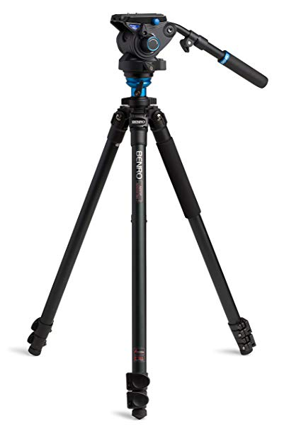Tripod - Wait!  What?  A non-Italian tripod?  That's right!!!  Benro makes really great gear and often at a lower price than the Italian brand! This tripod and fluid video head is loaded with pro features!  It even has an illuminated bubble level! This thing rocks! Benro for the win!!!