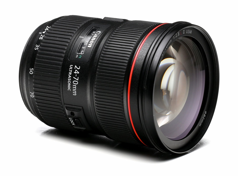 24-70mm f/2.8 ii - It took me a while to save up for this lens, but I'm glad I did! Before this lens, I used my 24mm and 50mm primes to shoot wide and up close to stuff. This lens effectively replaces my primes!  Having a constant f/2.8 aperture throughout the zoom range is awesome! It doesn't have image stabilization—so I either have to use a fast shutter speed, or a tripod to get sharp shots.  But the quality images this thing delivers is phenomenal!