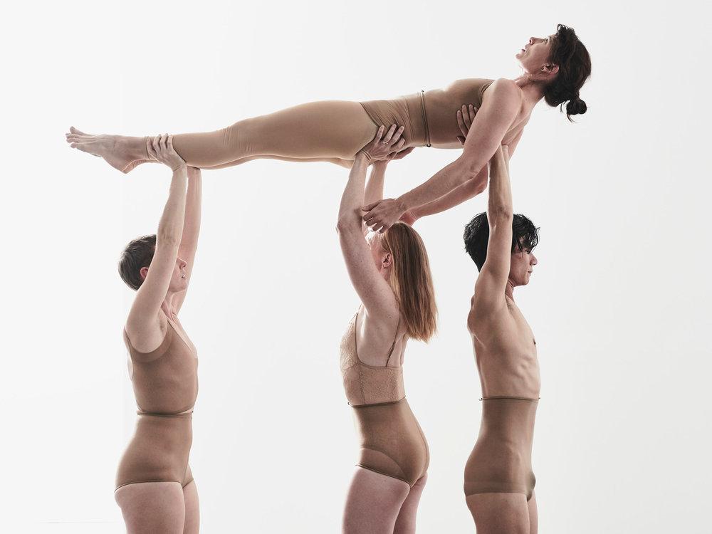 Dancers Shian Law, Rebecca Jensen, Jo Lloyd and Deanne Butterwork - Image by Peter Rosetzky