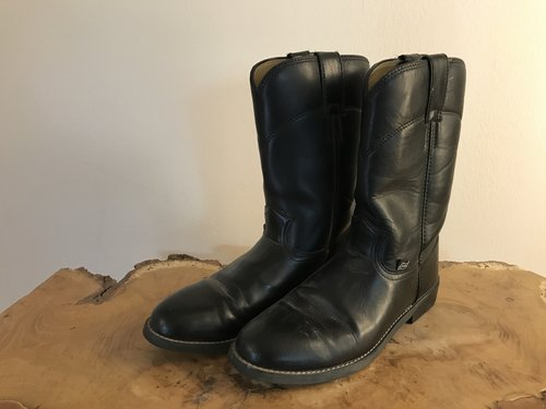 26a11401653 Justin Women's Roper Boots in Black
