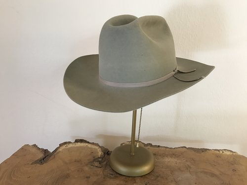 Vintage Resistol Cowboy Hat — The Western Wanderer 3e0de457894