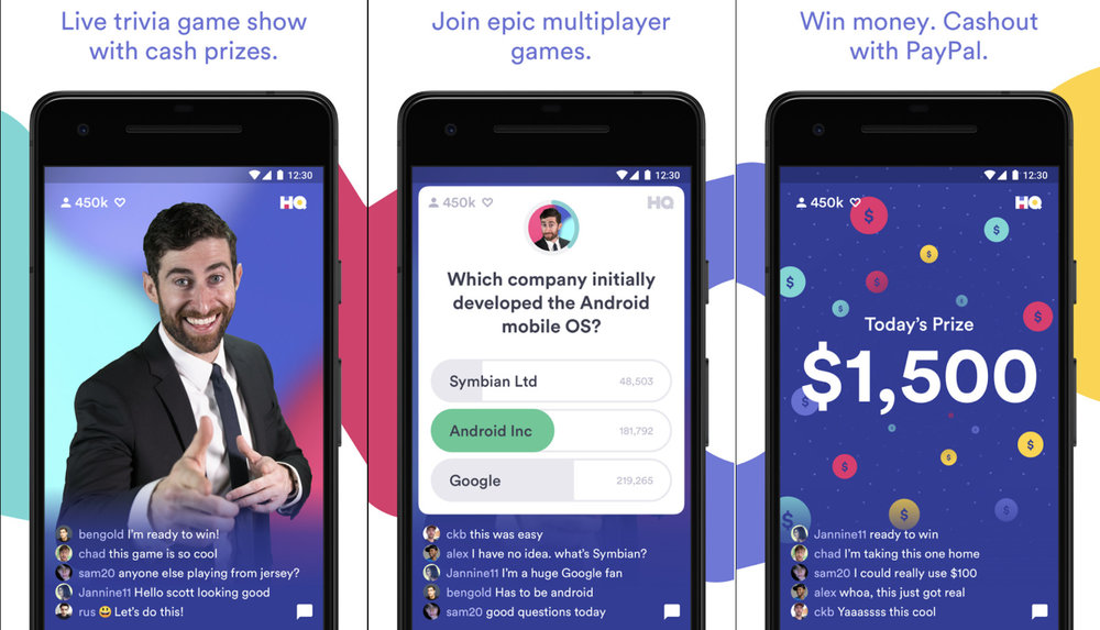 HQ Trivia screams 'we love the eighties', but it is the first true 'digital first' show around
