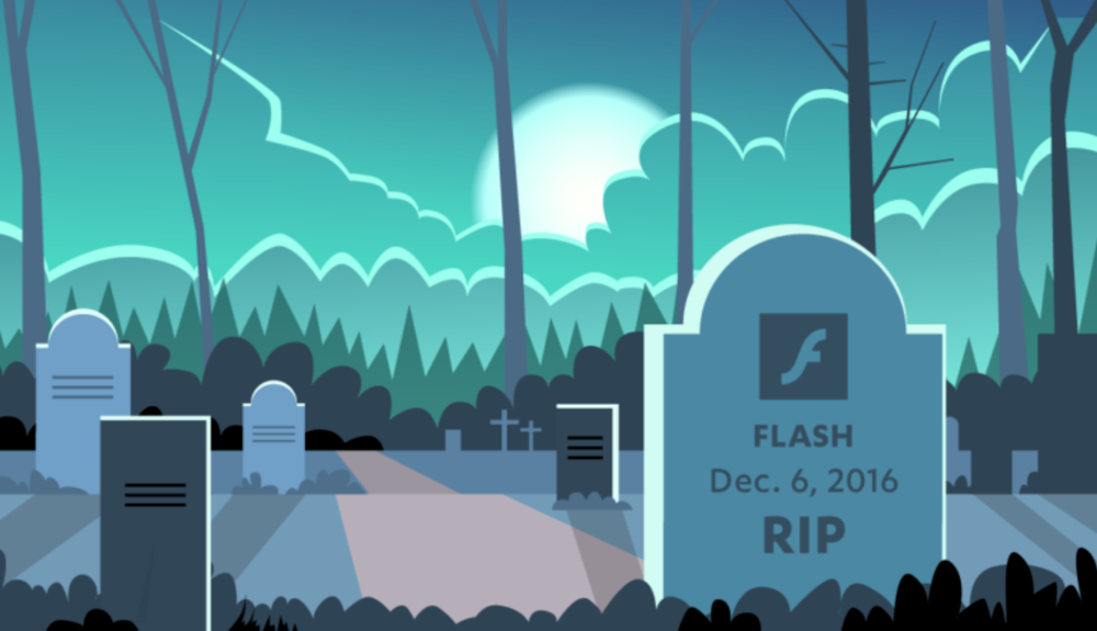 Image from JWPlayer blog:  HTML5 by Default – The Deprecation of Flash in Major Browsers