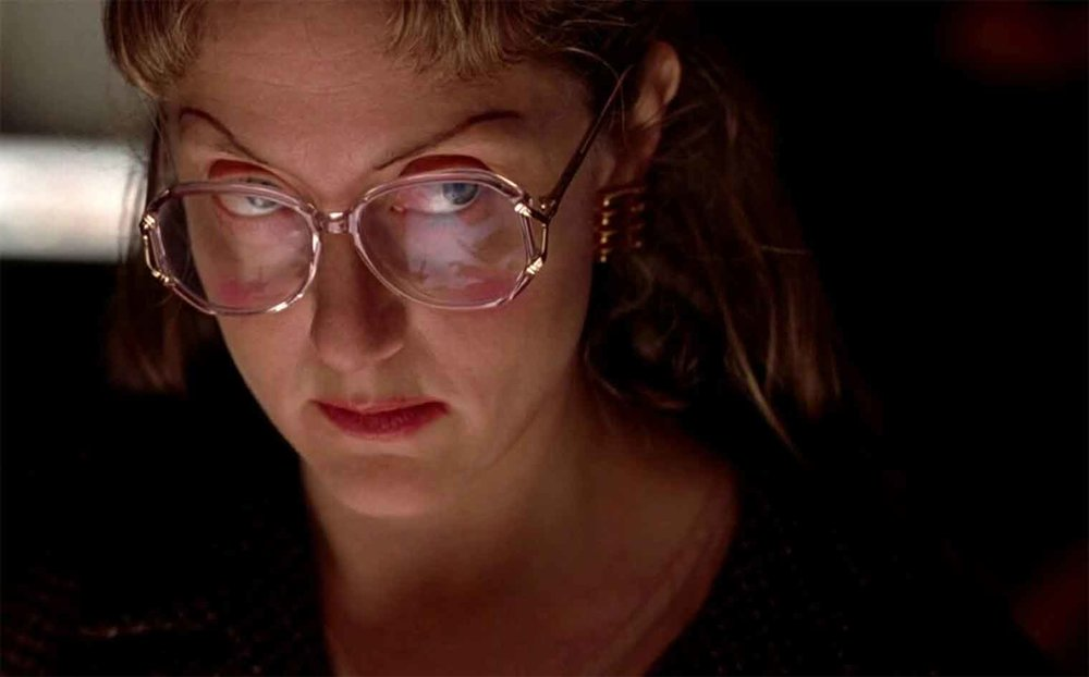 Still of Carol Kane as Dorine Douglas in OFFICE KILLER, 1997