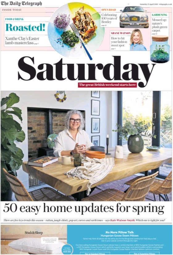 The Telegraph 13th April 2019 Cover.jpg
