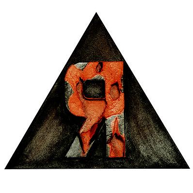 Yod, I, 2008, canvas, acrylic, 30 x 30 cm