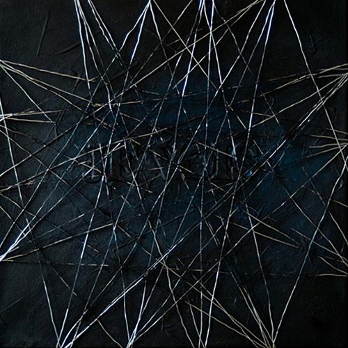 Yod, I see, 2010, canvas, acrylic, 40 x 40 cm