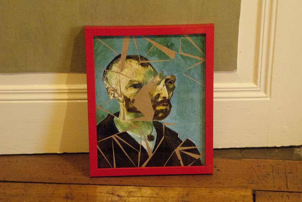 Yod, Vincent, 2013, picture frame, mixed media, 20 x 25 cm