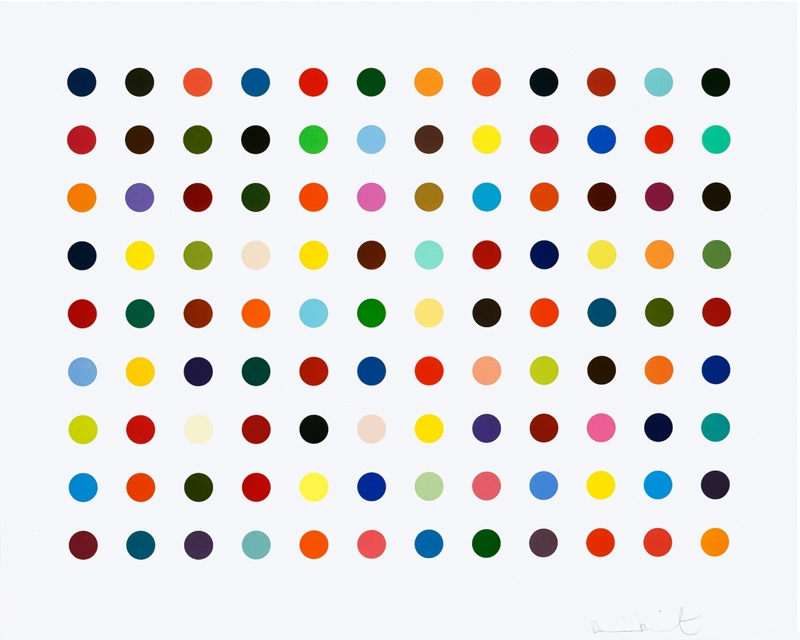'Ellipticine' by the artist Damien Hirst, 2007