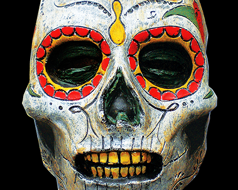 Death latex mask