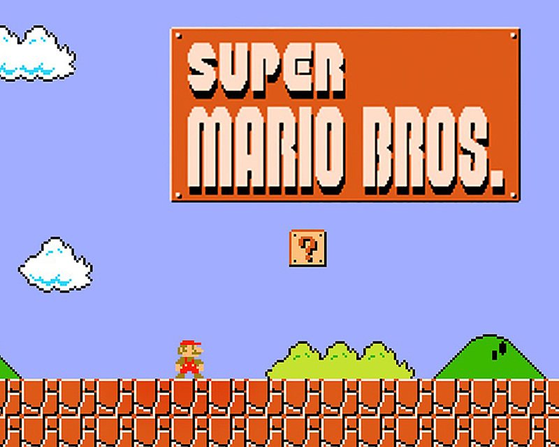 Super Mario Bros by Nintendo, 1985