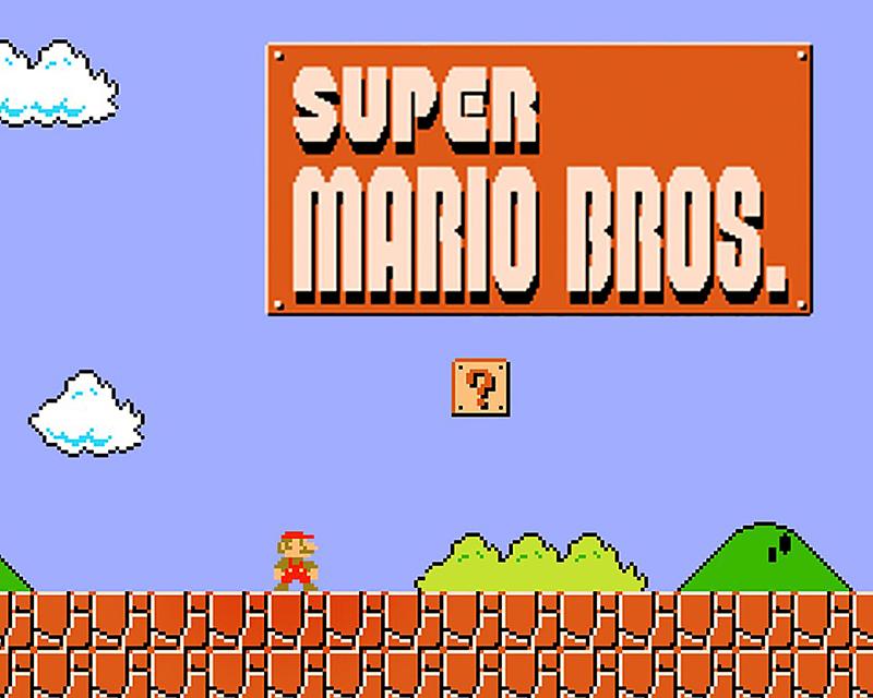 Super Mario Bros by Nintendo, 1985