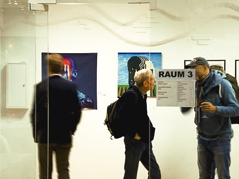 'Skurril' Exhibition. 2018
