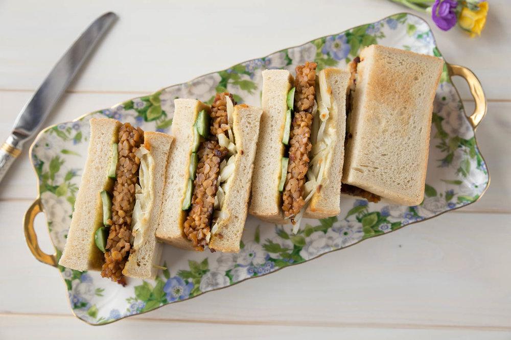 Tempeh Sandwiches