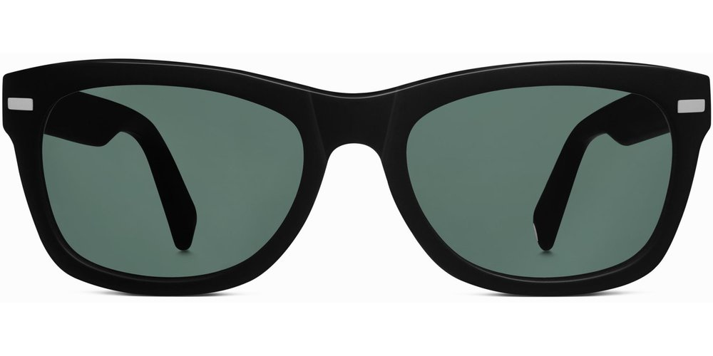 6df90f8da1ce Thatcher Sunglasses in Jet Black Matte by Warby Parker — Eyewear Blogger