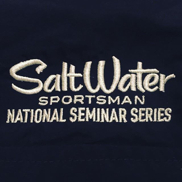 I'm going to be on the panel at the national seminar series this Saturday at the Linwood Country Club. Come out for a great fishing seminar by the leaders in the industry. Hope to see you there. #saltwatersportsman #georgepoveromo #nationalseminarseries #fishing #fishinfever