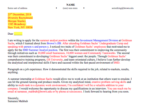how to right a cover letter for a resumes