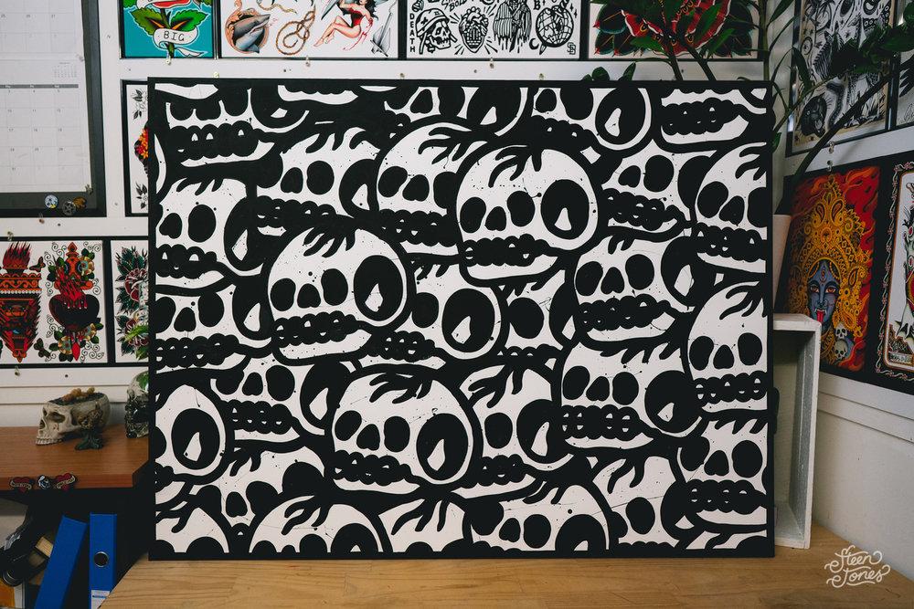 Steen-Jones-Canvas-Black-Skull-01.jpg